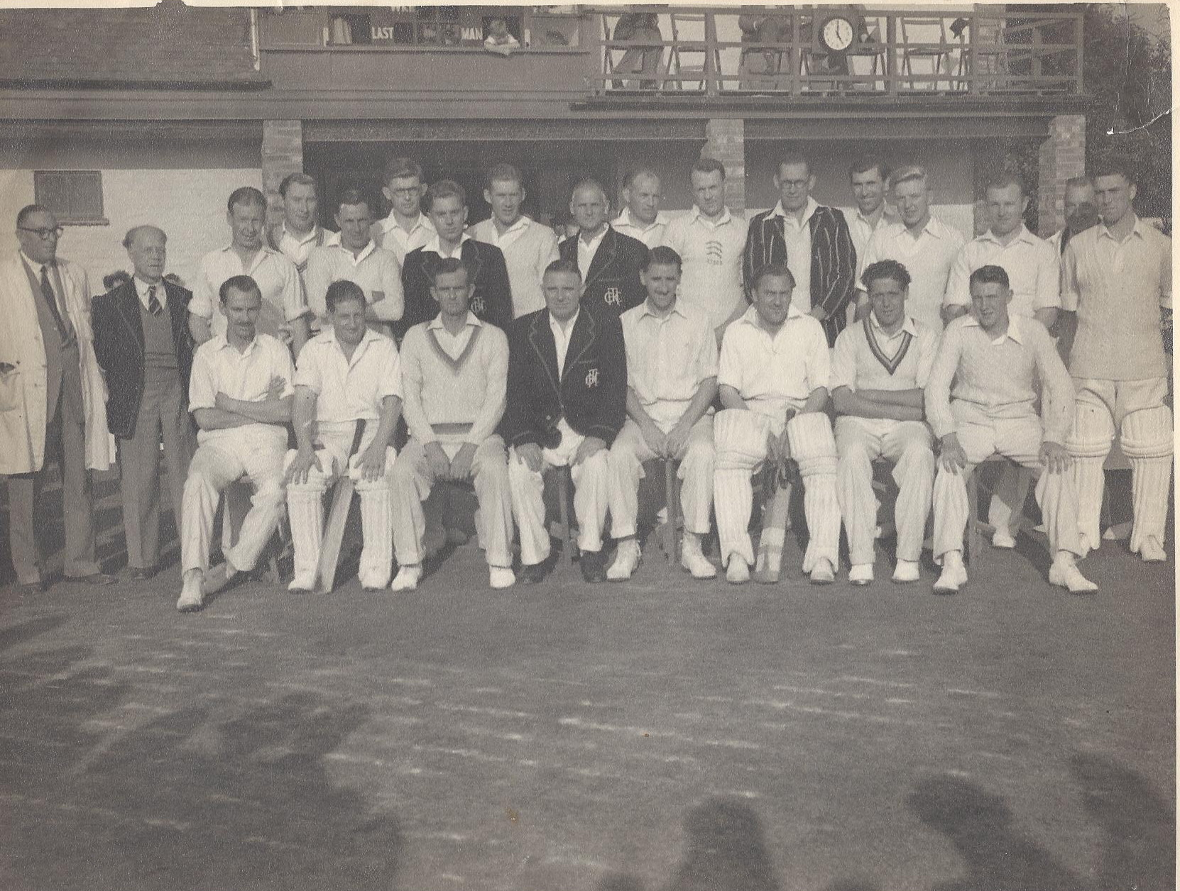 1953-Players-Pavilion Opening Match