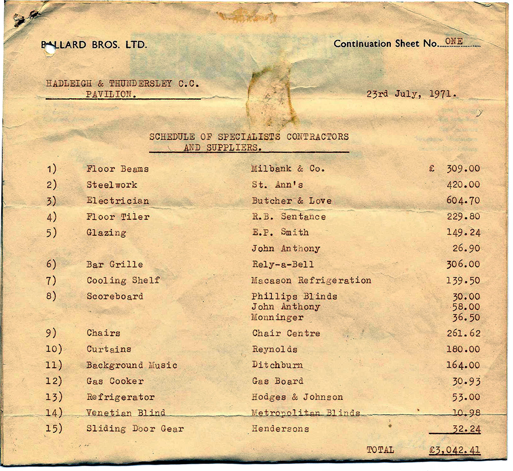 1971-New Pavilion-Schedule-1