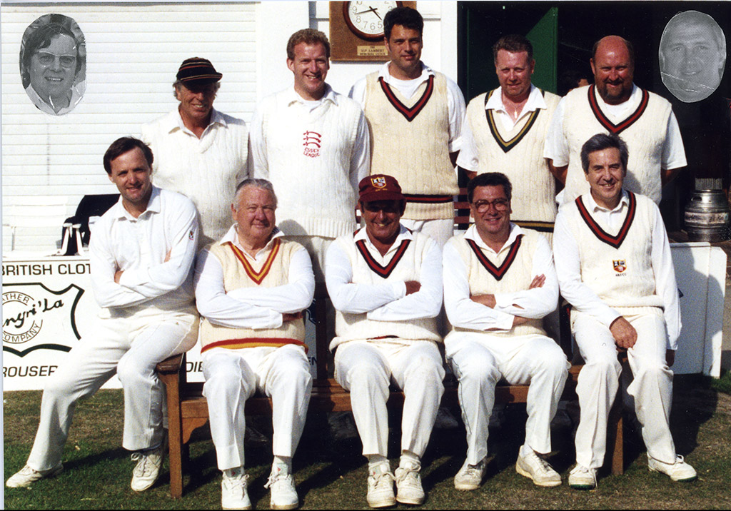 H&TCC PAST CAPTAINS' XI