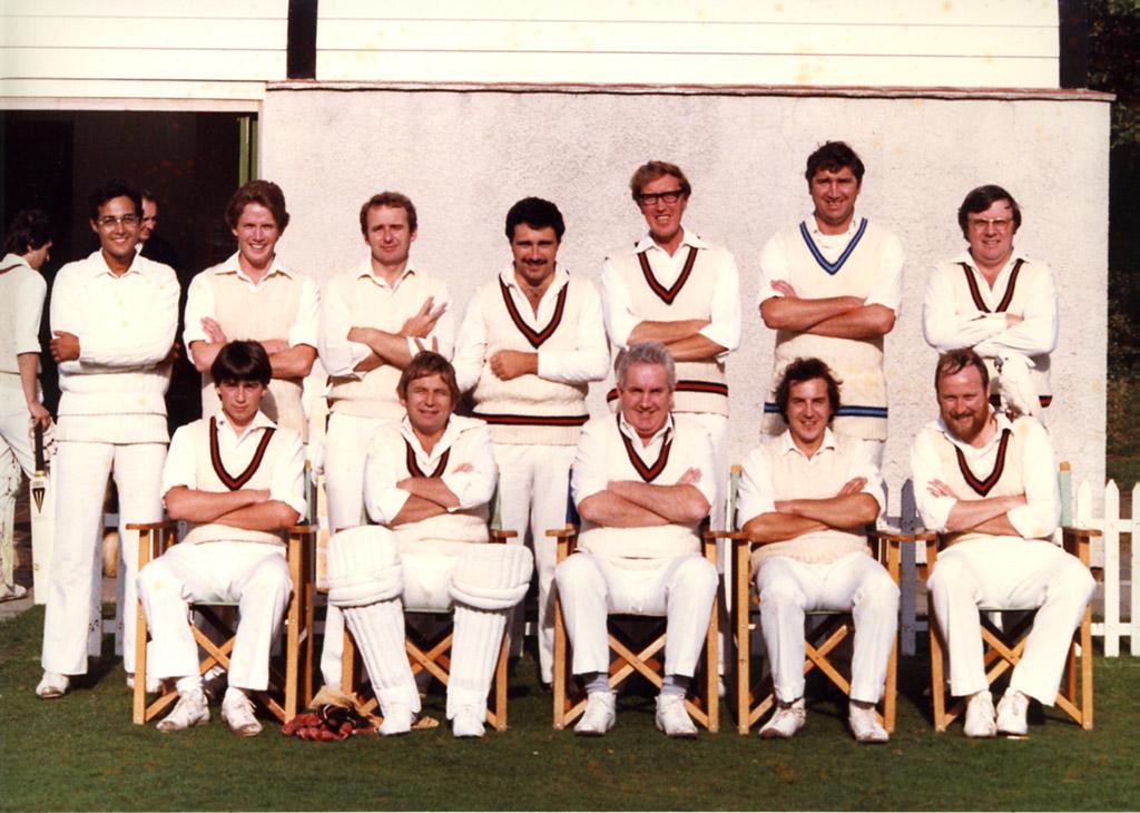 H&TCC SUNDAY 1st XI – 1981