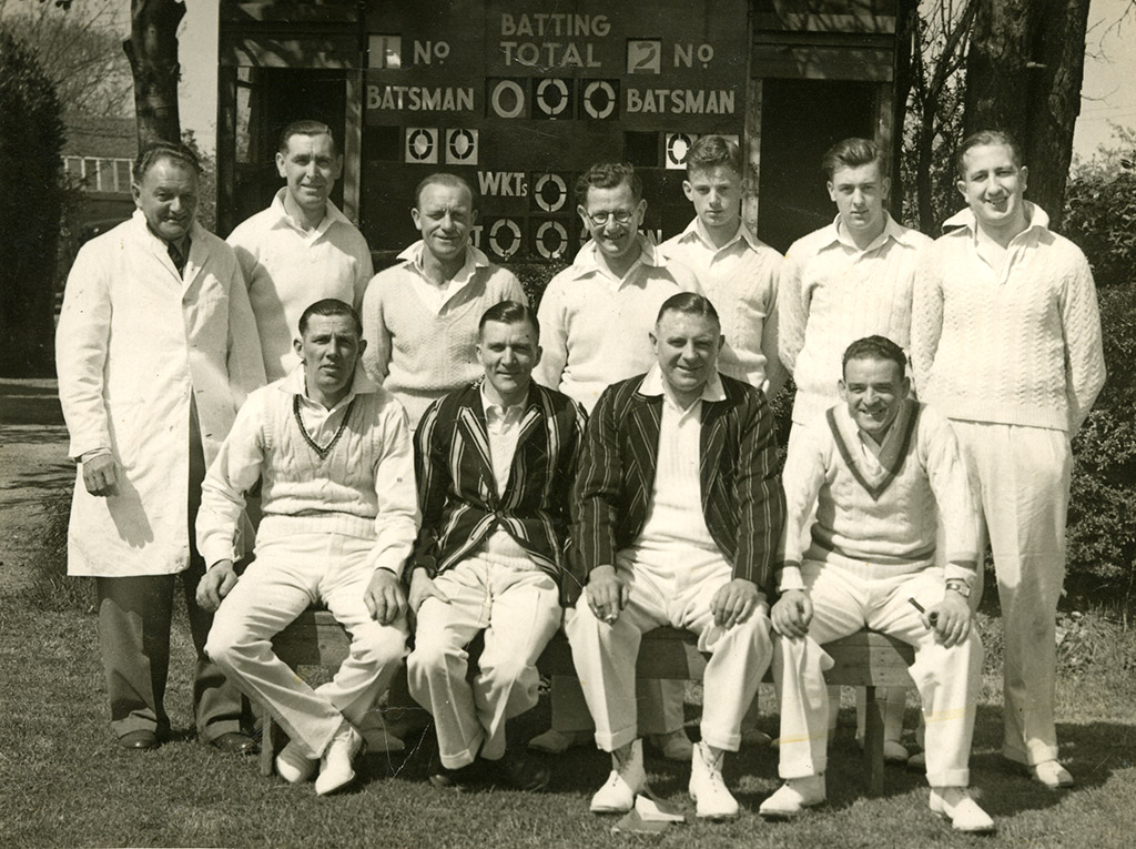 H&TCC Saturday 1st XI – 1954