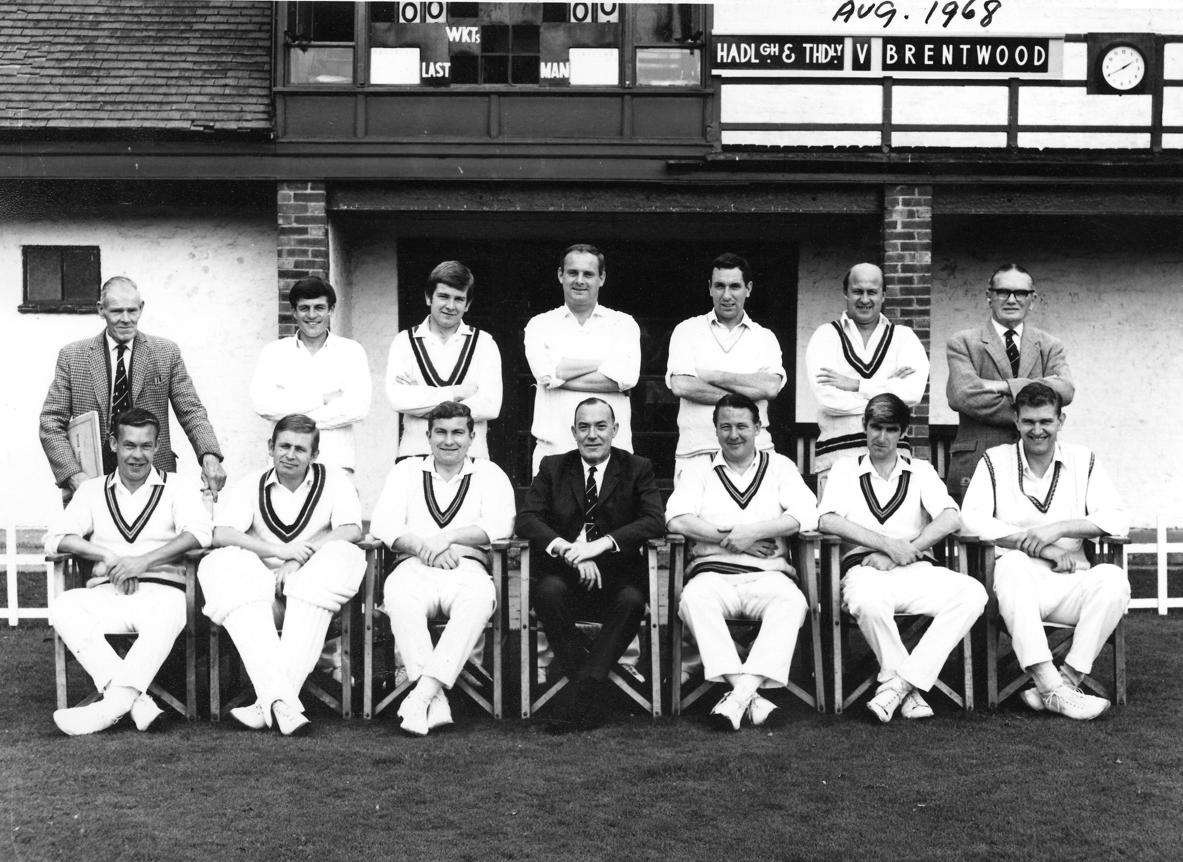 H&TCC Saturday 1st XI - 1968