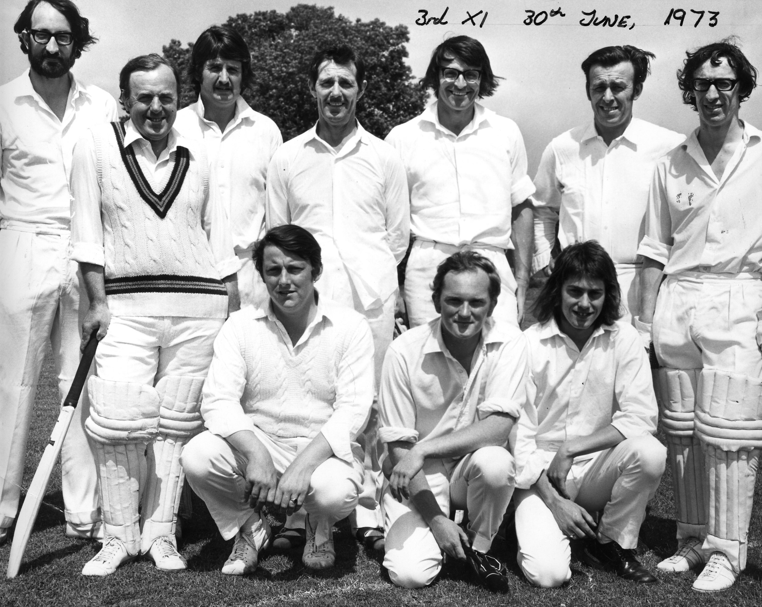 H&TCC Saturday 3rd XI – 1973