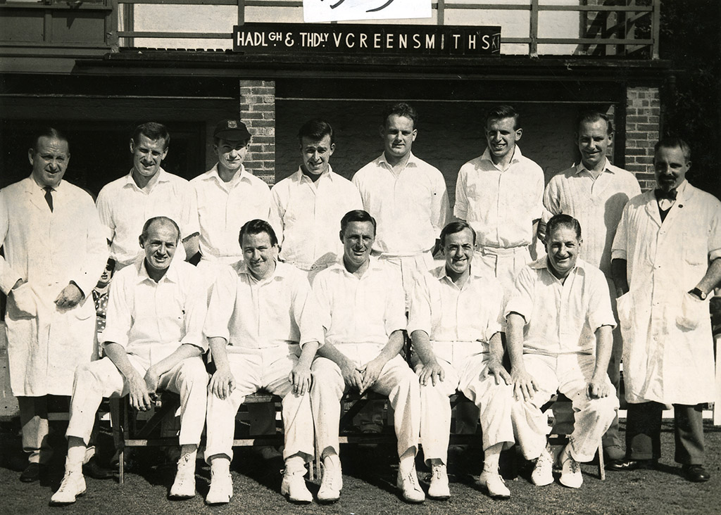 H&TCC XI Bill Greensmith's Benefit Match - 1963