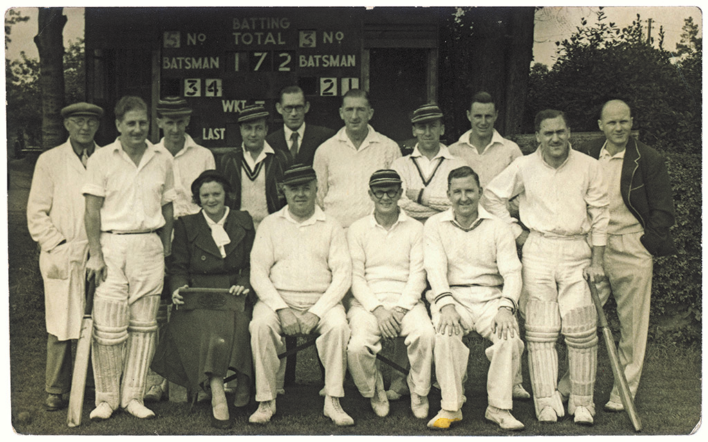Hadleigh & Thundersley Wednesday XI 1954