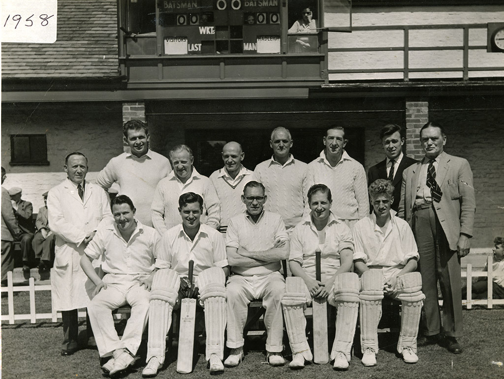Saturday 1st XI – 1958