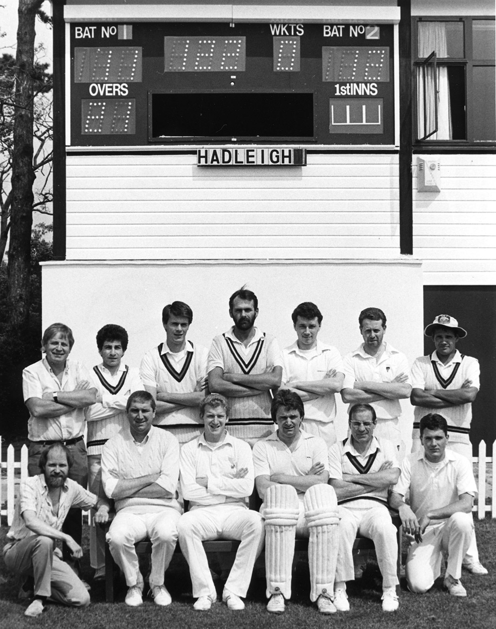 Saturday 1st XI – 1989